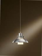 Hubbardton Forge 161090-82-YC340 Staccato Vintage Platinum Finish 7.56  Tall Mini Hanging Pendant Lighting