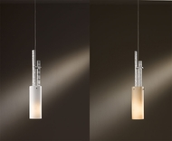 Hubbardton Forge 161105 Ondrian Vintage Platinum Finish 3  Wide Mini Hanging Pendant Light