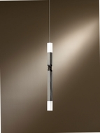 Hubbardton Forge 161140D Helix 1.25  Wide LED Mini Hanging Light Fixture