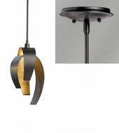 Hubbardton Forge 18653-SINGLE Corona Mini Hanging Light