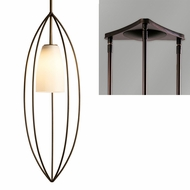 Hubbardton Forge 18740-TRIPLE-TRIANGLE Temp 3-Light Triangular Hanging Light