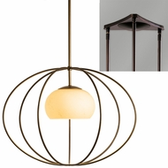 Hubbardton Forge 18742-TRIPLE-TRIANGLE Cadence 3-Light Triangular Hanging Pendant Light