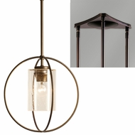 Hubbardton Forge 18744-TRIPLE-TRIANGLE Rhythm 3-Light Triangular Drop Lighting