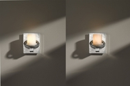 Hubbardton Forge 205965 Cavo Vintage Platinum Finish 4.5  Wide Wall Lighting