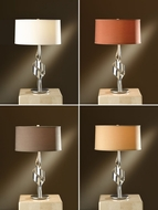 Hubbardton Forge 272930 Flux Vintage Platinum Finish 24.1  Tall Table Light