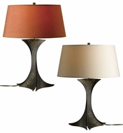 Hubbardton Forge 277805 Beechwood Designer Clear Coat Fluorescent Lighting Table Lamp