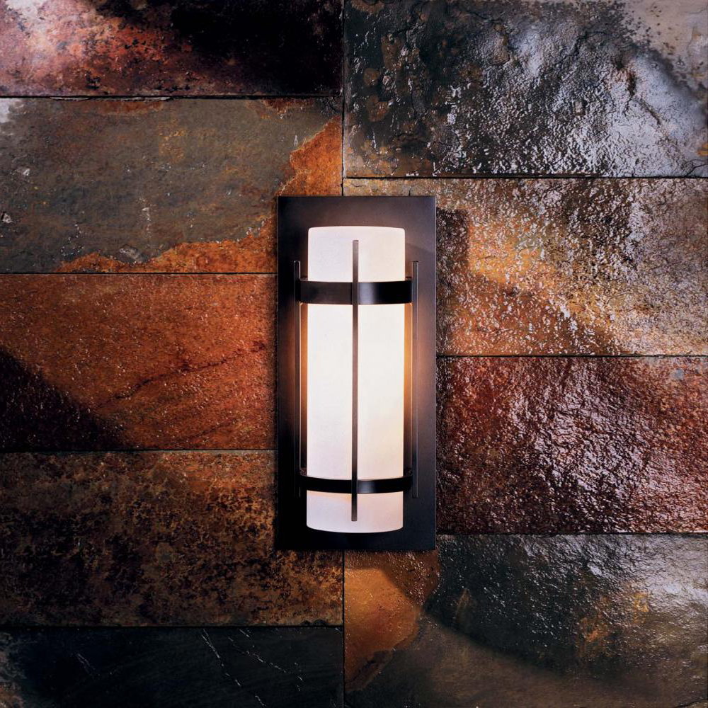 Hubbardton Forge 305893 Banded Led Exterior Wall Light