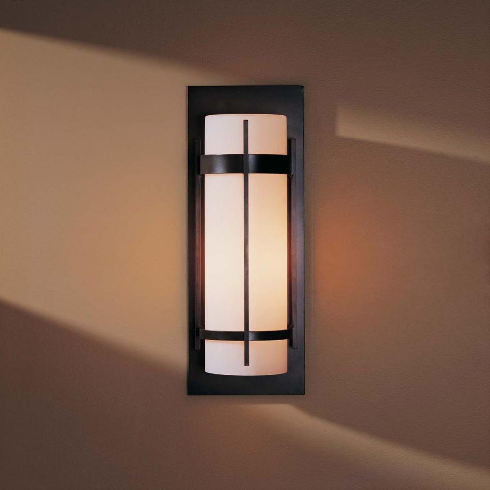 Hubbardton Forge 305894 Banded LED Outdoor Lighting Wall Sconce HUB 305894