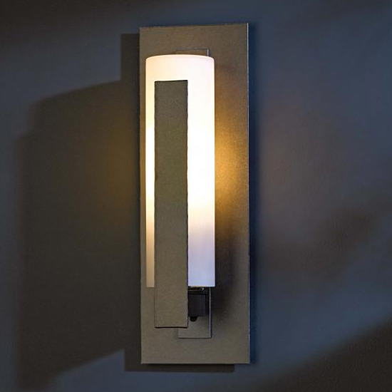 hubbardton forge 307285 vertical bar led outdoor wall. Black Bedroom Furniture Sets. Home Design Ideas