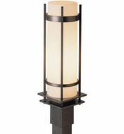 Hubbardton Forge 345894 Banded LED Outdoor Post Lamp