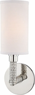 Hudson Valley 1021-PN Dubois Polished Nickel Sconce Lighting