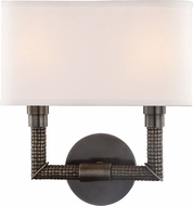 Hudson Valley 1022-DB Dubois Distressed Bronze 2-Light Lighting Sconce