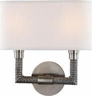 Hudson Valley 1022-HN Dubois Historic Nickel 2-Light Lamp Sconce