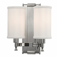 Hudson Valley 1122-PN Palmdale Polished Nickel Finish 12  Tall Wall Light Sconce