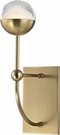 Hudson Valley 1221-AGB Boca Modern Aged Brass LED Lighting Wall Sconce