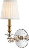 Hudson Valley 1291-AGB Lapeer Aged Brass Wall Lighting Sconce
