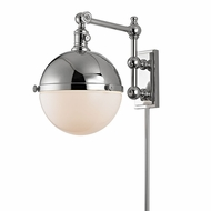 Hudson Valley 1671-PN Stanley Retro Polished Nickel Swing Arm Light