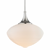 Hudson Valley 1916-PN Knox Contemporary Polished Nickel Hanging Lamp