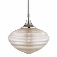 Hudson Valley 1926-PN Knox Contemporary Polished Nickel Pendant Hanging Light