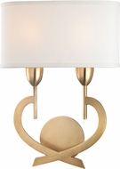Hudson Valley 2150-AGB Downing Aged Brass Wall Light Fixture