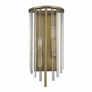 Hudson Valley 2511-AGB Lewis Aged Brass Light Sconce