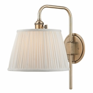 Hudson Valley 2931-AGB Fillmore Aged Brass Finish 10  Wide Wall Lamp