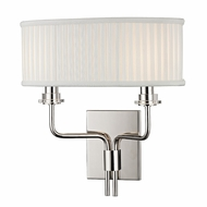 Hudson Valley 3352-PN Gorham Polished Nickel Finish 12.5  Wide Light Sconce