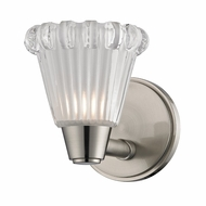 Hudson Valley 3441-SN Varick Satin Nickel Finish 5.25  Wide Xenon Wall Lighting Sconce