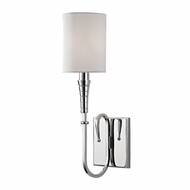 Hudson Valley 4091-PN Kensington Polished Nickel Wall Sconce Lighting