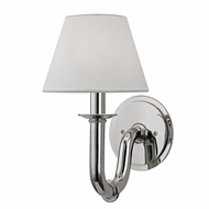 Hudson Valley 4421-PN Dundee Polished Nickel Sconce Lighting