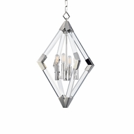 Hudson Valley 4617-PN Lyons Modern Polished Nickel Foyer Light Fixture