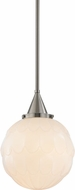 Hudson Valley 4812-SN Tybalt Satin Nickel Mini Pendant Lamp