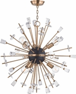 Hudson Valley 5032-AGB Liberty Contemporary Aged Brass 32 Chandelier Light