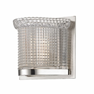Hudson Valley 5191-SN Denning Satin Nickel Finish 6  Wide Xenon Wall Light Sconce