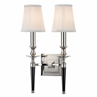 Hudson Valley 5222-PN Salina Polished Nickel Finish 10.5  Wide Wall Sconce
