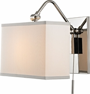 Hudson Valley 5421-PN Leyden Polished Nickel Wall Sconce Lighting