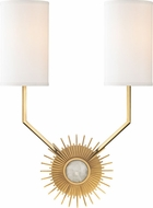 Hudson Valley 5512-AGB Borland Aged Brass Wall Light Fixture