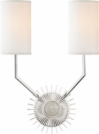 Hudson Valley 5512-PN Borland Polished Nickel Lighting Wall Sconce
