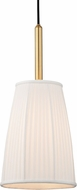 Hudson Valley 6060-AGB Malden Aged Brass Mini Drop Ceiling Lighting