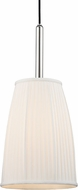 Hudson Valley 6060-PN Malden Polished Nickel Mini Ceiling Pendant Light