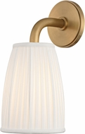 Hudson Valley 6061-AGB Malden Aged Brass Wall Lighting Sconce