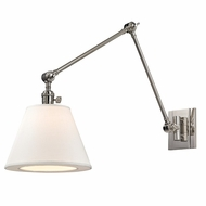 Hudson Valley 6234-PN Hillsdale Retro Polished Nickel Finish 34  Tall Wall Lighting