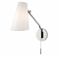Hudson Valley 6341-PN Patten Modern Polished Nickel Swing Arm Light