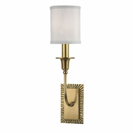Hudson Valley 8081-AGB Dover Aged Brass Lamp Sconce