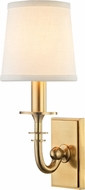 Hudson Valley 8400-AGB Carroll Aged Brass Wall Lighting Fixture