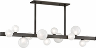 Hudson Valley 8744-OB Mini Hinsdale Contemporary Old Bronze LED Kitchen Island Light