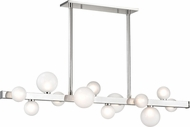 Hudson Valley 8744-PN Mini Hinsdale Modern Polished Nickel LED Island Light Fixture