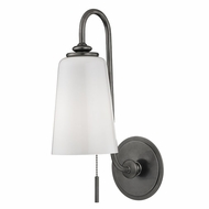 Hudson Valley 9011-HN Glover Historic Nickel Wall Sconce Lighting