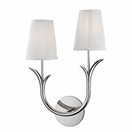 Hudson Valley 9402L-PN Deering Polished Nickel Wall Light Sconce