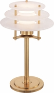 Hudson Valley L912-AGB Gatsby Contemporary Aged Brass LED Lighting Table Lamp